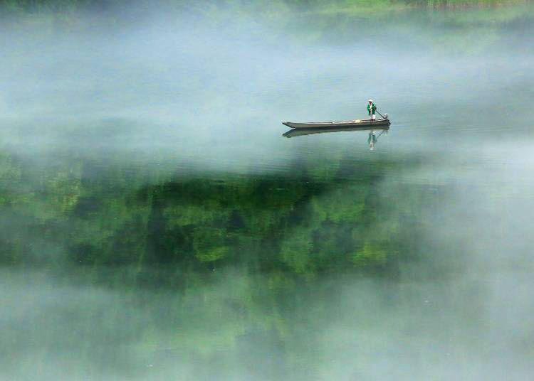 【福島】宛如進入仙境的霧幻峽渡船