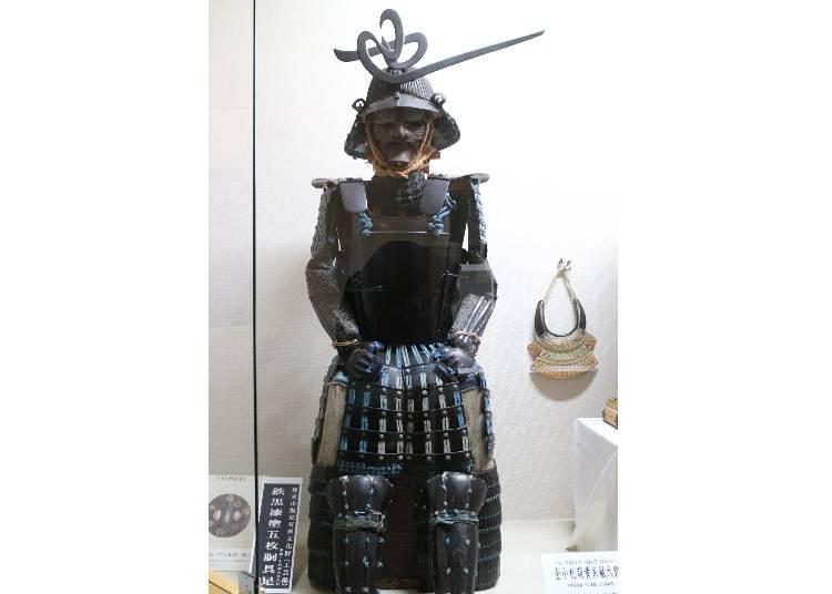 ひと足のばし「登米懐古館」で甲冑鑑賞