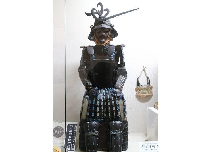 再多花一點時間到「登米懷古館」欣賞盔甲吧!