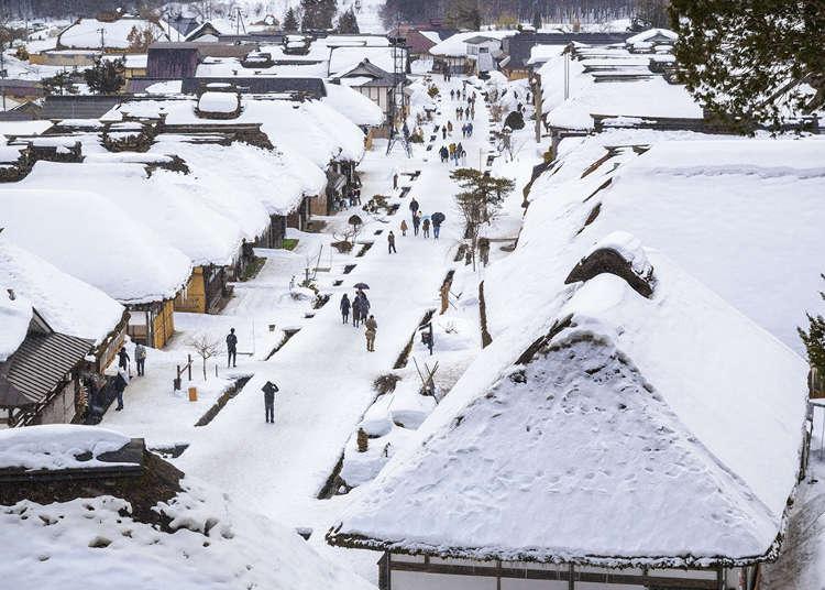 역참마을의 흔적을 고스란히 간직한 '오우치주쿠'에서 옛 일본으로 타임슬립