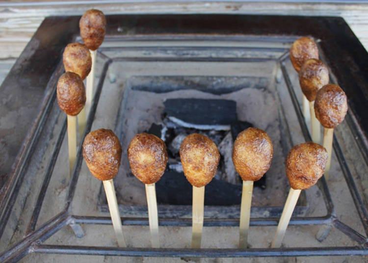 Ajidokor Minatoya: Enjoy Freshly-grilled Shingoro