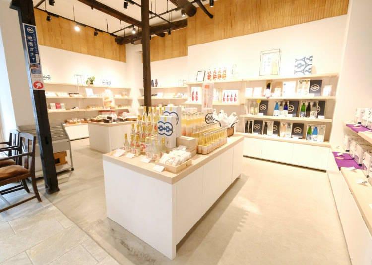 The Souvenir Shop: More Than Just Sake!