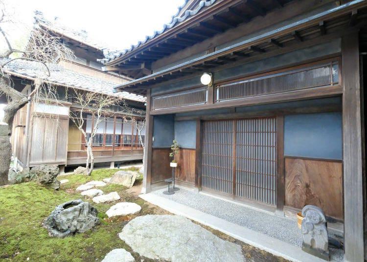 일본 전통가옥에서 여유로운 시간을 만끽
