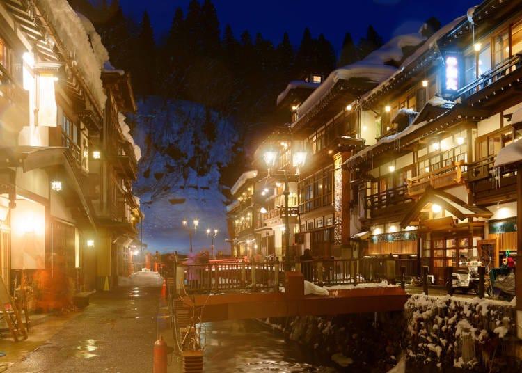 東北特色溫泉經驗談①日本傳統風情+夢幻氛圍太吸引人了【山形縣的銀山溫泉】