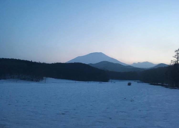 1. Love how the Tohoku region's scenery changes with the season
