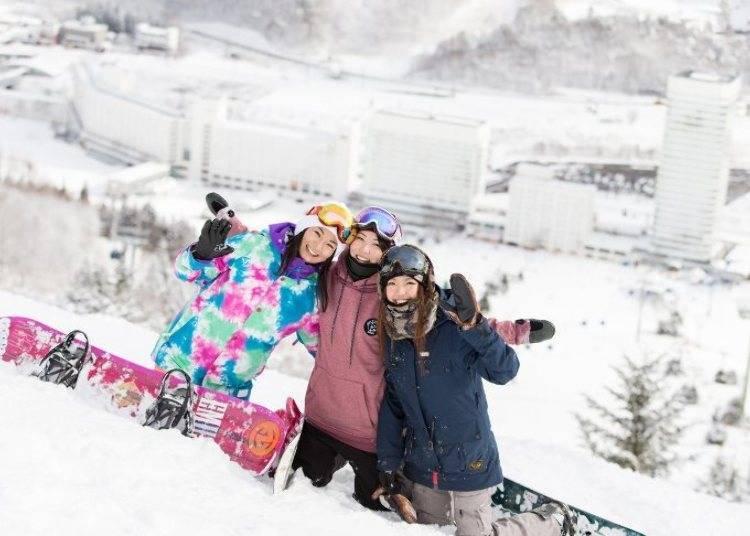 3. One of Japan's best quality resorts – Naeba ski resort (Niigata)