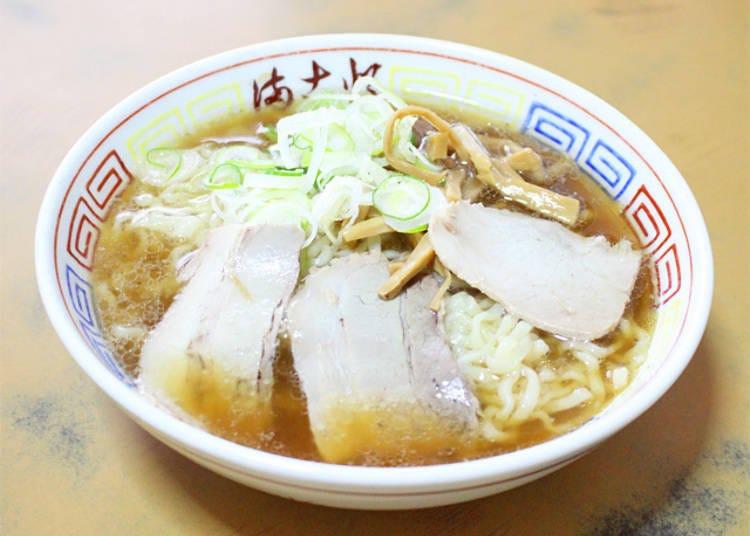 2) 모닝 라멘도 먹을 수 있는 '마코토쇼쿠도'