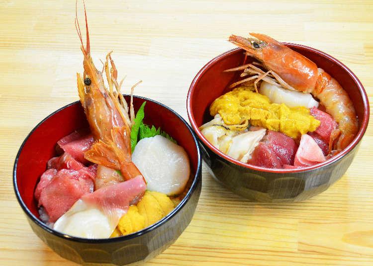 自分で海鮮丼が作れる!「塩釜水産物仲卸市場」で絶品グルメ食べ歩き体験