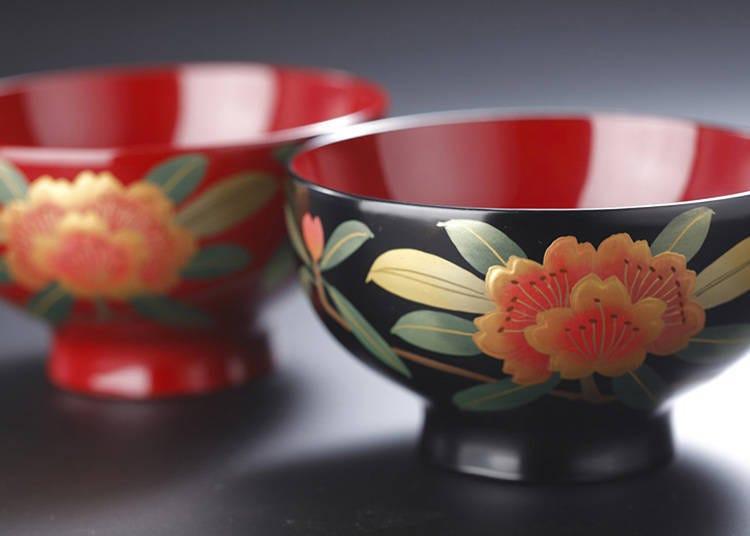 6: Aizu Shikki Lacquerware (Fukushima Prefecture)
