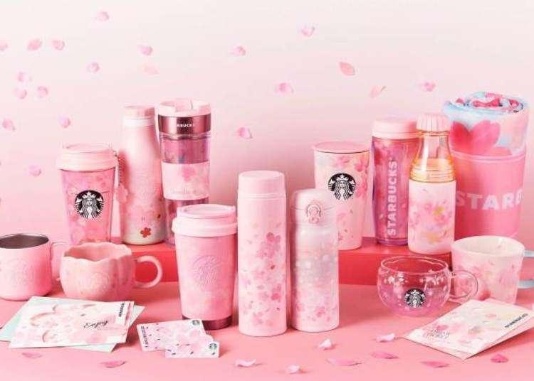 Starbucks Japan reveals new sakura cherry blossom drinkware range for 2020