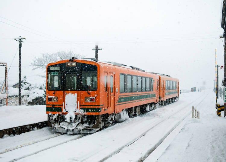 1.쓰가루 고쇼가와라역 津軽五所川原駅・쓰가루철도 津軽鉄道(아오모리현)