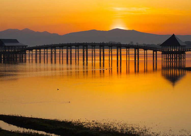 Tsuru-No-Mai Bridge (Aomori): Best Sightseeing Spots Around Japan's Longest Wooden Bridge!