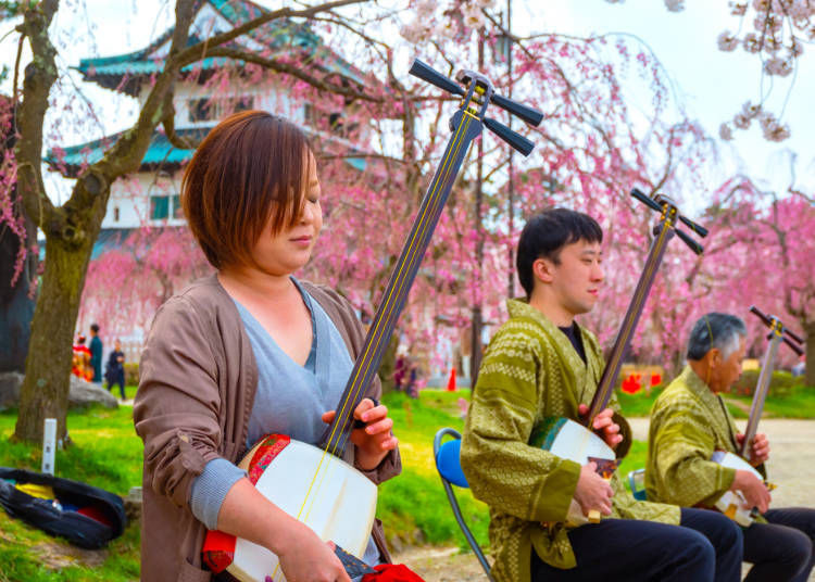 3. Immerse yourself in the music of the shamisen