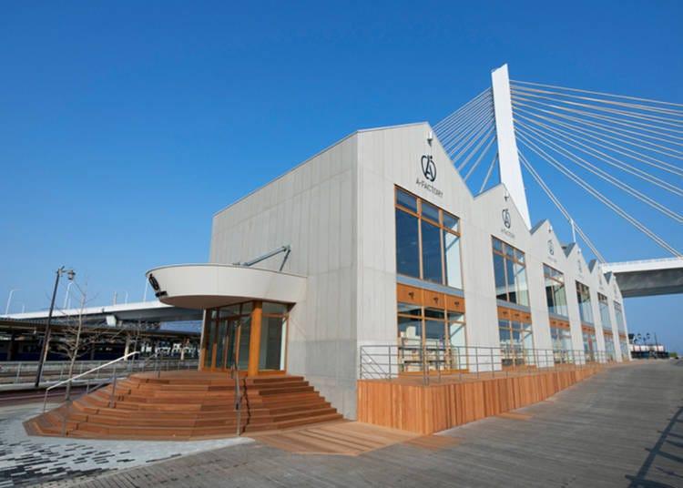 9. Find Aomori souvenirs at A-FACTORY