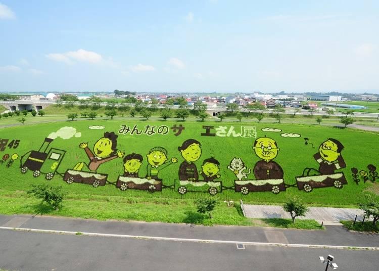 青森・田舎館村の田んぼアートっていったいなに?