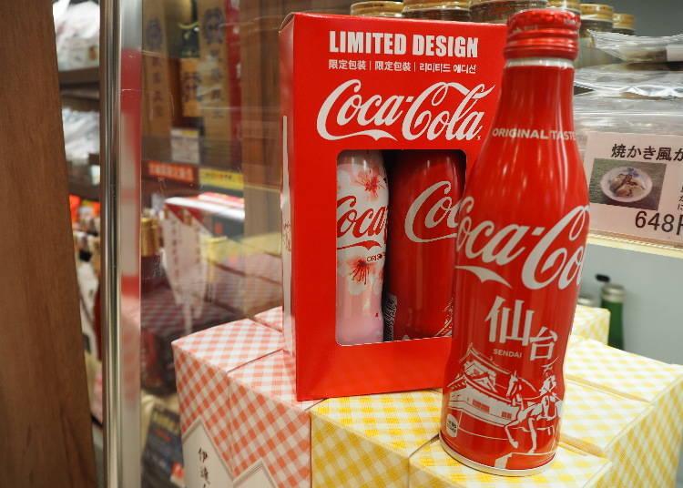 仙台車站必買第10名:可口可樂仙台當地限定瓶