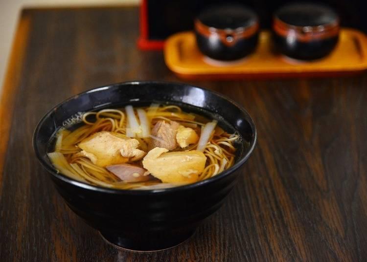 鳴子溫泉鄉美食①蕎麥處小花