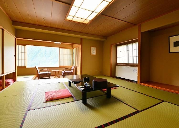 「大江戸温泉 鳴子温泉 ますや」の魅力3:客室