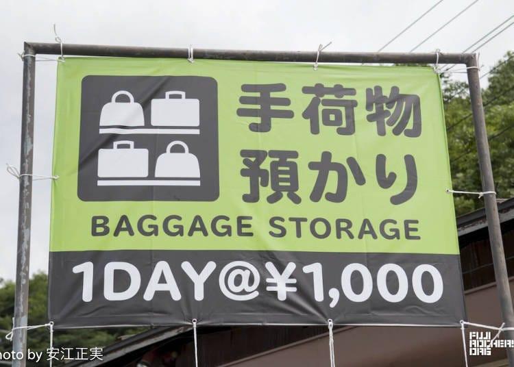 4. Local services and food at Fuji Rock