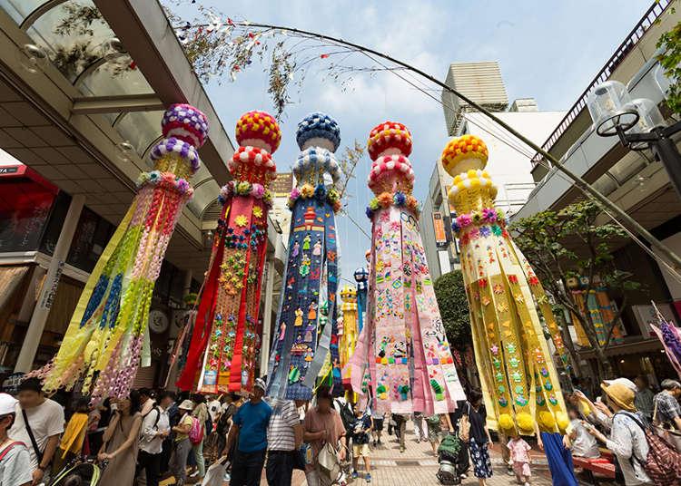 도호쿠 3대 축제 '센다이 타나바타 마츠리' 가이드~ 교통편과 볼거리 소개