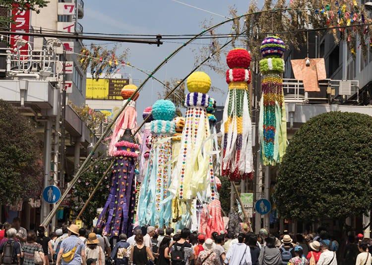 Getting to the Sendai Tanabata Festival