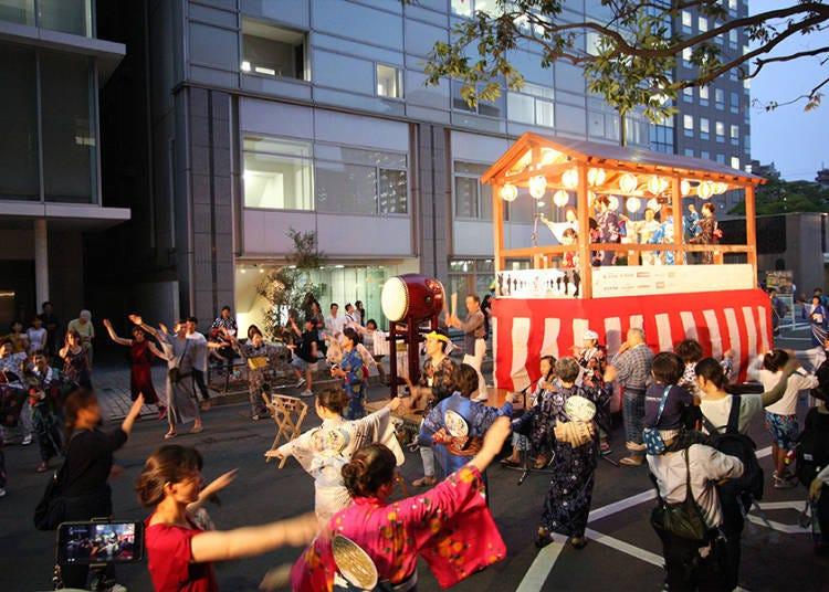 仙台七夕祭看點①祭典廣場