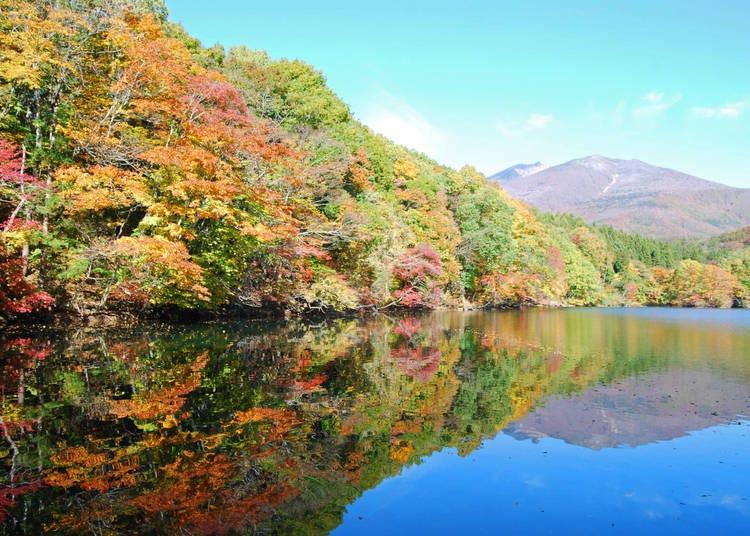 7.絵画のような美しさ【長老湖】