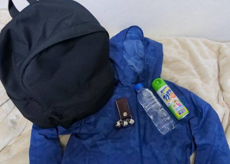 오이라세계류 산책을 위한 복장과 아이템은 최소한의 준비를