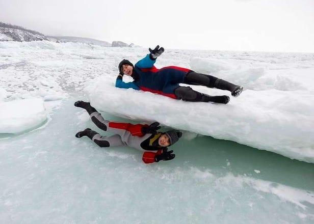 流氷と遊び、雪の湖畔を散策!  冬の北海道・知床をもっと楽しむための7ポイント