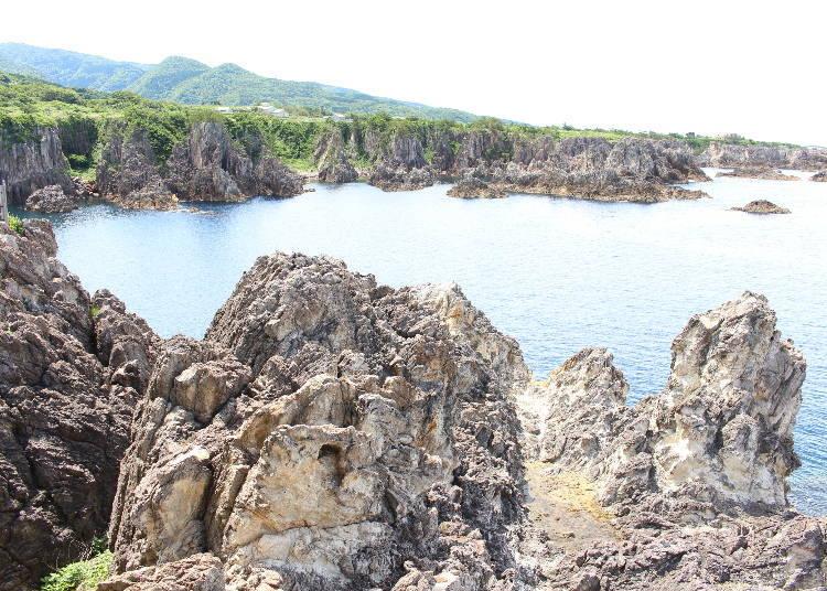 佐渡島推薦觀光景點⑧360度全景的斷崖峭壁與大海景色,是最後的壓軸