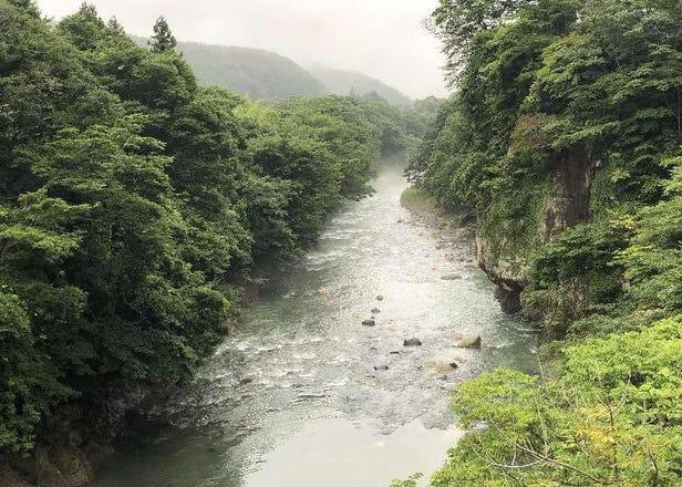 당일치기로 즐길 수 있는 '아키우 온천'의 1일 관광 루트(센다이역에서 차로 약 30분)