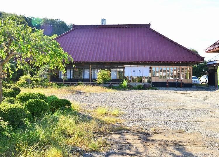 秋保溫泉景點③在古民家餐廳「Akiu-sha」享用當地蔬菜分量滿分的午餐