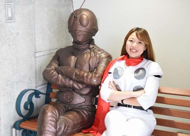 Ishinomori Manga Museum Is The Must-Visit Place For Kamen Rider Fans!