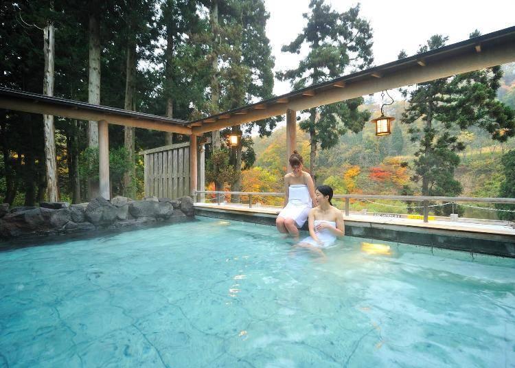 5)仙峡の宿 銀山荘