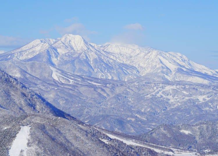 Myoko Kogen, one of the areas with the heaviest snowfalls in Japan
