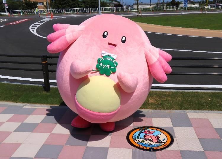 可愛的寶可夢吉利蛋在福島現身!一起來看看超有特色的日本人孔蓋設計