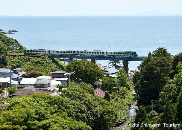 Making memories with Resort Shirakami on the way to Juniko