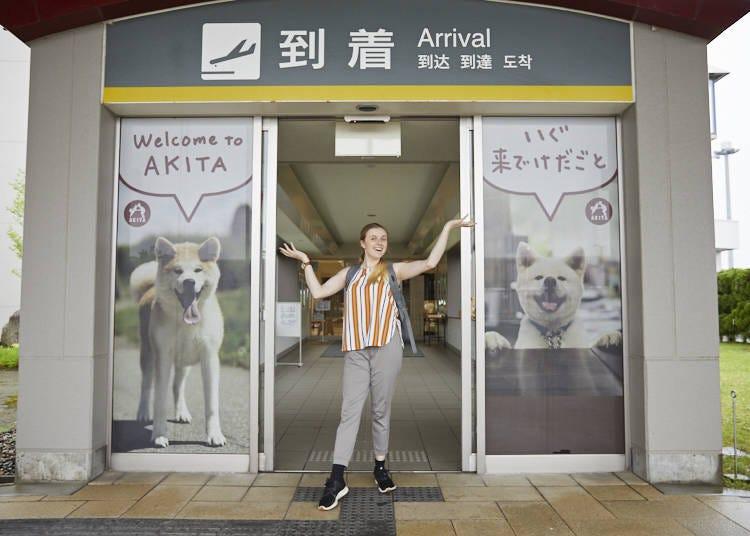 ■1日目:飛行機で羽田空港から大館能代空港~秋田・白神山地へ