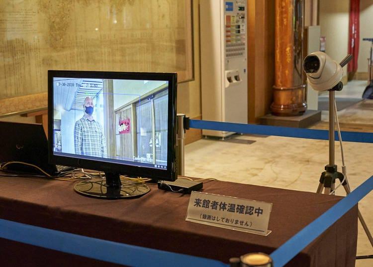 Coronavirus Precautions at Akiu Onsen
