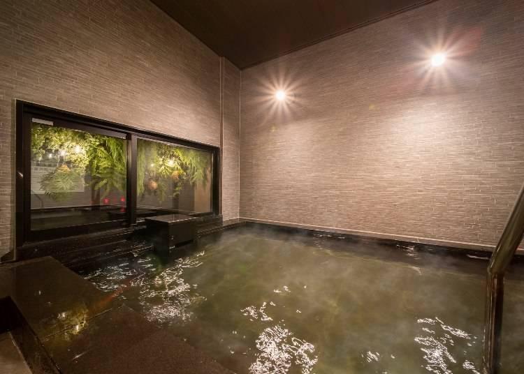 Refreshing hot springs