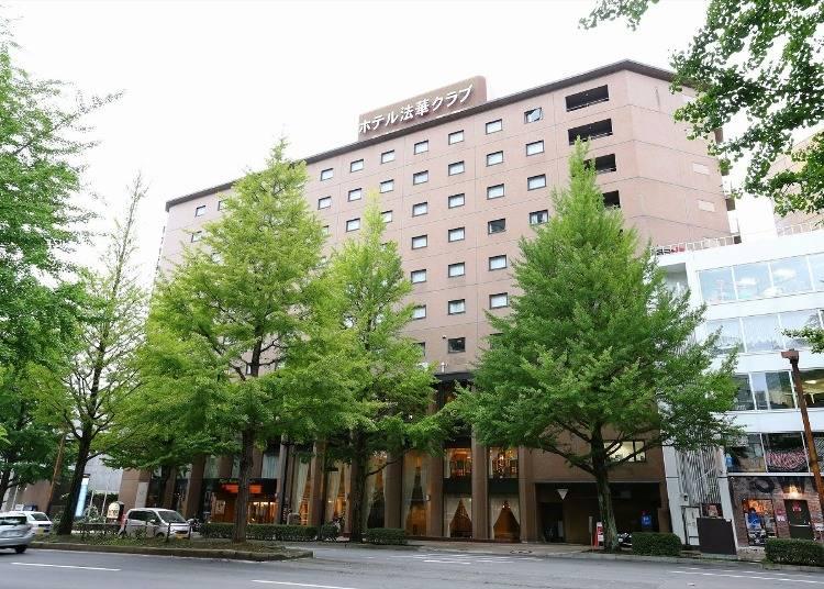 2.ホテル法華クラブ仙台:郷土料理を堪能するブッフェが人気