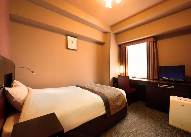 6.ホテル モンテ エルマーナ仙台:レディースフロアが充実