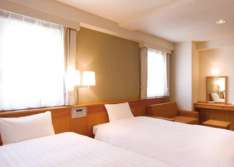 10:ホテルプレミアムグリーンプラス:長期滞在にぴったりな連泊プランあり