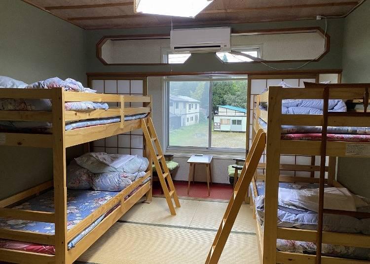 1.十和田湖ホステル:リーズナブルさが魅力のゲストハウス