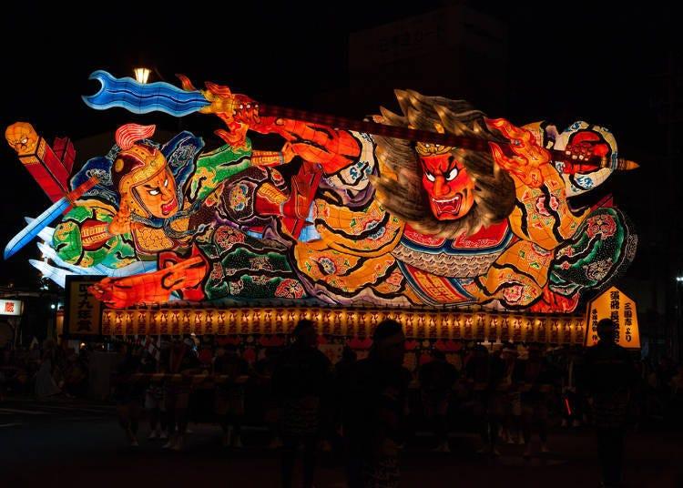 ■네부타 마츠리 축제를 가까이에서 볼 수 있는 호텔 4곳