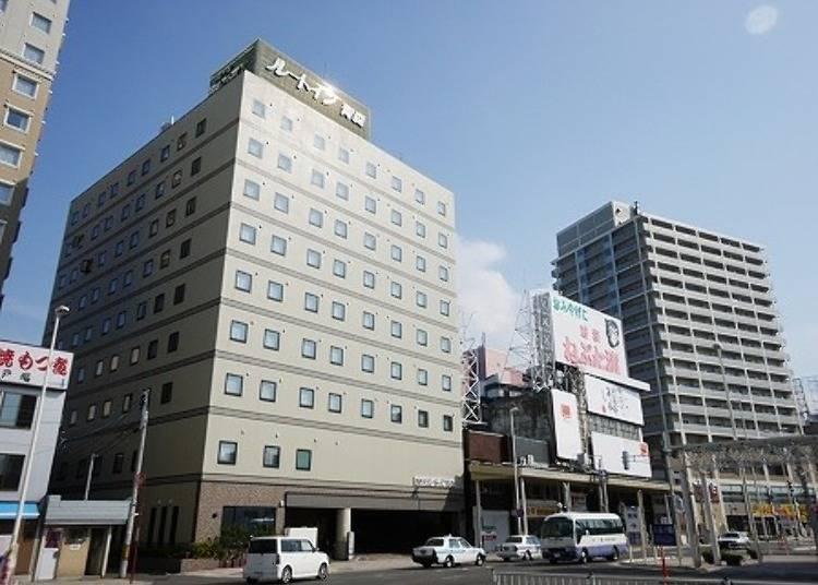 4. 호텔 루트 인 아오모리역앞 : 아오모리역 앞의 좋은 입지