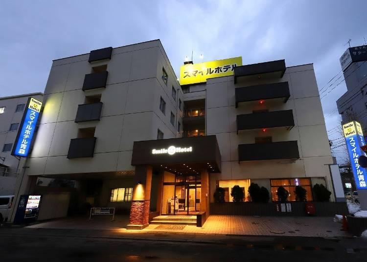 青森飯店③Smile Hotel Aomori:到青森睡魔祭會場或市區觀光都很方便