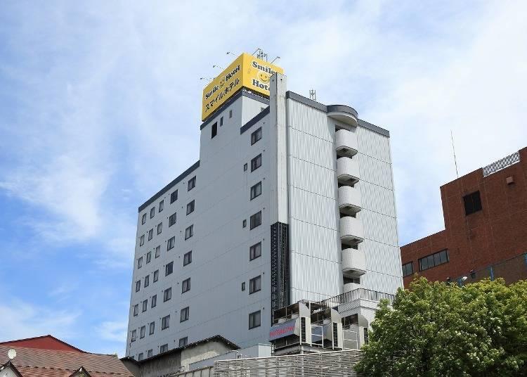 青森飯店⑦Smile Hotel Hirosaki:走一下就會到人氣觀光景點