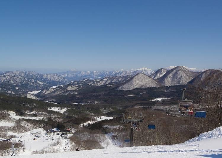 아이즈고원 다이쿠라 스키장에 가는 법은?