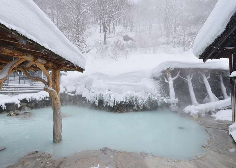 Nyuto Onsen: Famous Baths with Breathtaking Winter Sights in Akita's Renowned Hot Spring Village